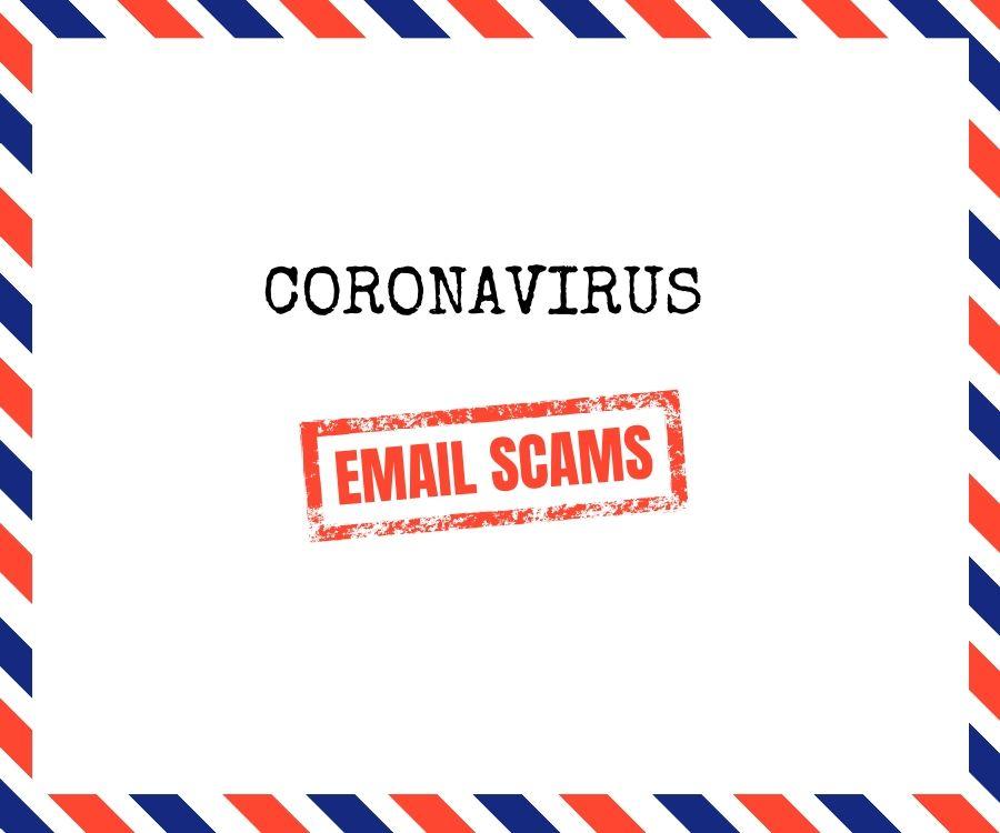 Coronovirus Email Scams