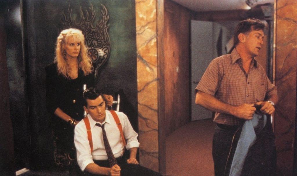 Wall Street Starring Charlie Sheen and Martin Sheen